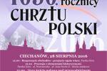 Diecezjalne obchody 1050. rocznicy chrztu Polski w Ciechanowie