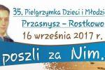 Piesza pielgrzymka młodzieży i dorosłych z Ciechanowa do Rostkowa