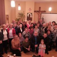 Spotkanie opłatkowe Bractwa Bożego Miłosierdzia