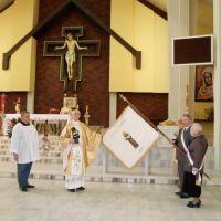 Poświęcenie Sztandaru św. Franciszka z Asyżu.